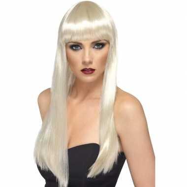 Blonde jaren 70 pruik