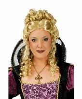 Boze koningin pruik blond